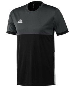 Adidas T16 Short Sleeve Tee Heren Zwart