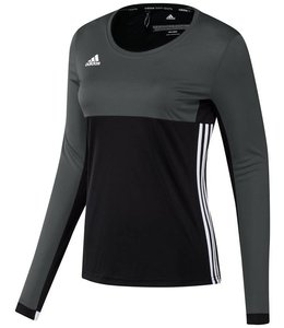 Adidas T16 'Oncourt' long sleeve shirt Dames Zwart