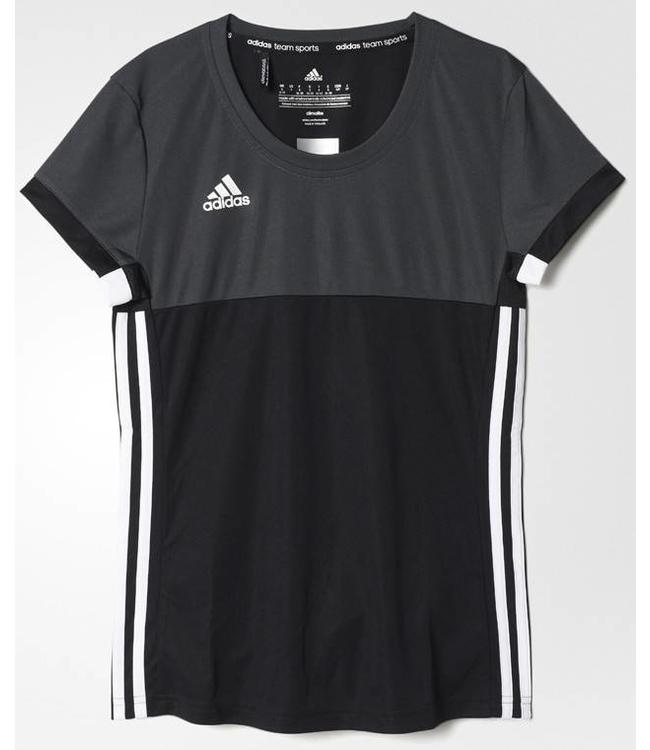 Adidas T16 'Oncourt' short sleeve shirt Damen Schwarz