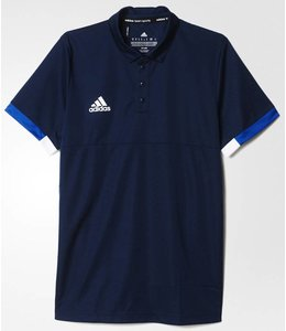 Adidas T16 'Offcourt' Team Polo Heren Navy