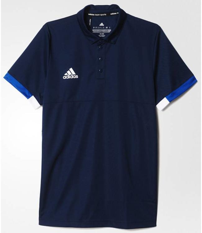 Adidas T16 'Offcourt' Team Polo Heren Navy