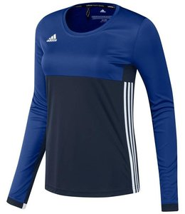 Adidas T16 'Oncourt' long sleeve shirt Dames Navy