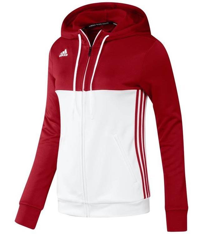Adidas T16 Hoody Dames Rood