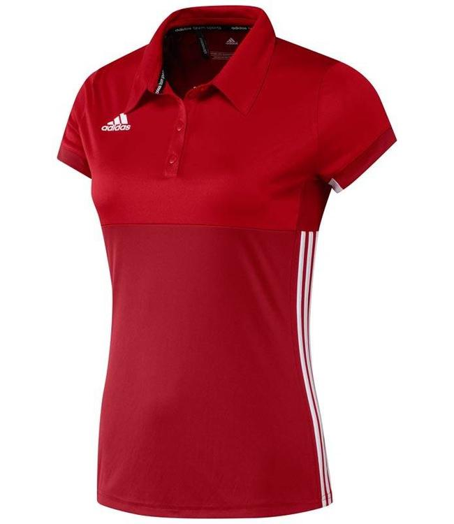 Adidas T16 Polo Dames Rood