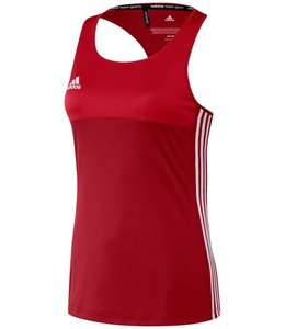 Adidas T16 Tanktop Damen Rot