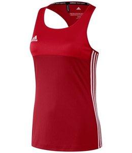 Adidas T16 Tanktop Dames Rood