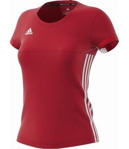 Adidas T16 'Offcourt' Team T-shirt Dames Rood