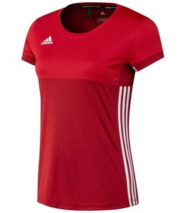 Adidas T16 'Oncourt' short sleeve shirt Damen Rot