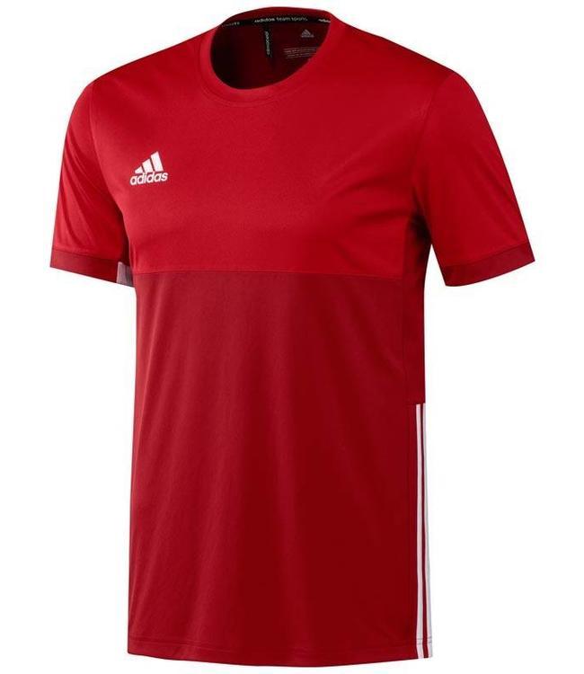 Adidas T16 Short Sleeve Tee Herren Rot