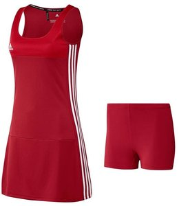 Adidas T16 Jurk Dames Rood