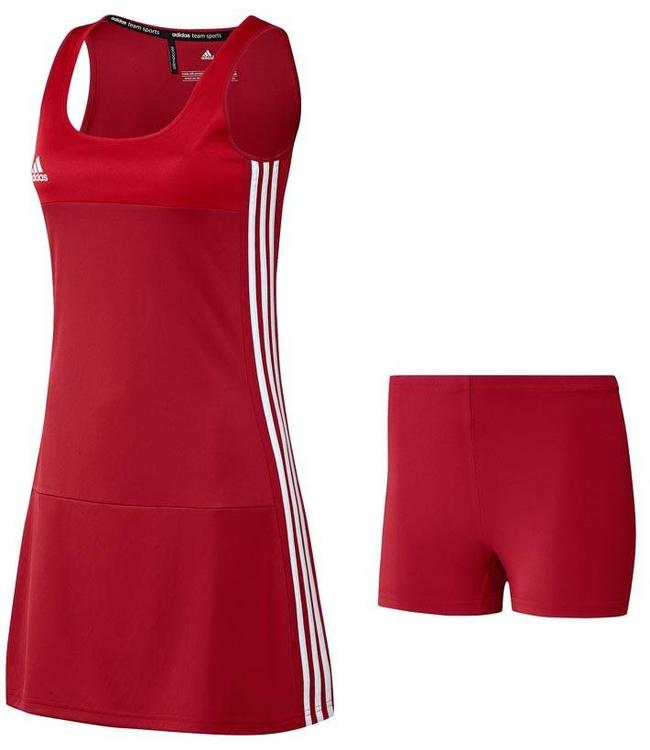 Adidas T16 Kleid Damen Rot