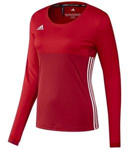 Adidas T16 'Oncourt' long sleeve shirt Dames Rood