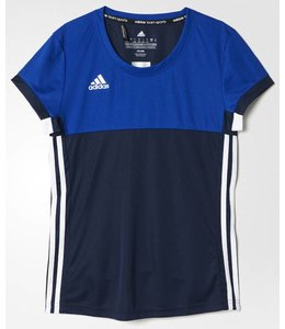 Adidas T16 'Oncourt' short sleeve shirt Damen Navy