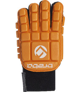 Brabo Foam Glove F3 Full Finger Linkerhand Oranje