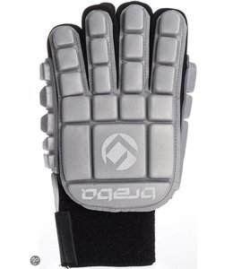 Brabo Foam Glove F3 Full Finger Linkerhand Zilver