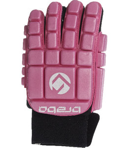 Brabo Foam Glove F3 Full Finger Linkerhand Roze