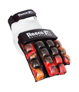 Reece Protection Glove Halve Vingers Rood/Zwart
