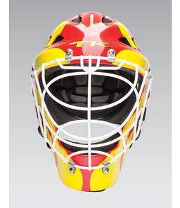 TK T1 Helm Rot/Gelb