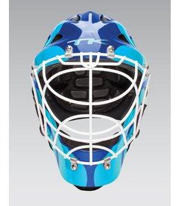 TK T1 Helm Royal/Fluo Blau