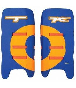 TK P1 Legguards Total Control D30 Blauw/Oranje