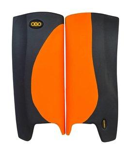 Obo Robo Hi-Rebound Legguards Oranje/Zwart