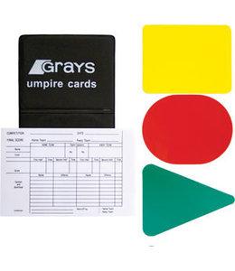 Grays Schiedsrichter Karten