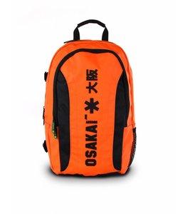 Osaka Large Backpack Orange/Schwarz