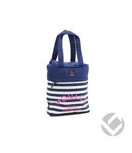 Brabo Tote Bag Monaco Navy/ Roze