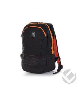Brabo Backpack Traditional Zwart/Oranje