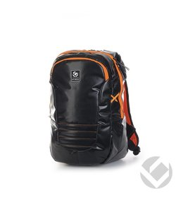 Brabo Backpack JR TeXtreme Schwarz/Orange