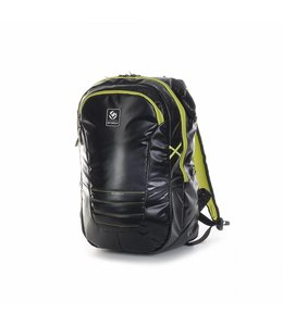 Brabo Backpack JR TeXtreme Schwarz/Lime