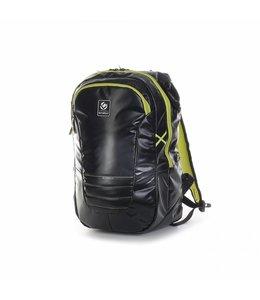 Brabo Backpack TeXtreme Zwart/Lime Junior