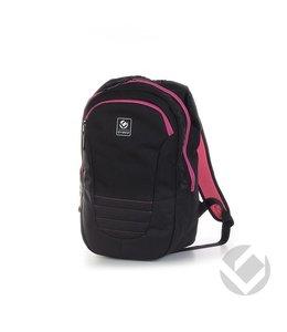 Brabo Backpack Traditional Junior Zwart/Roze