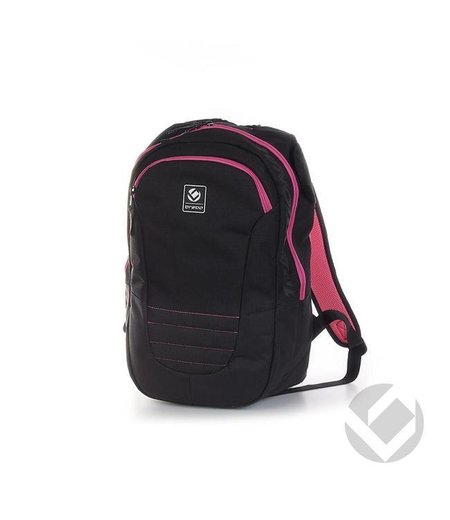 Brabo Backpack JR Traditional  Schwarz/Pink