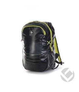 Brabo Backpack TeXtreme Zwart/Lime Senior