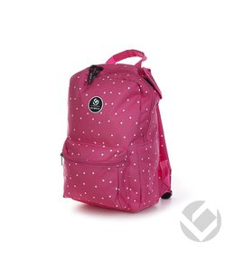 Brabo Backpack Dots Pink Junior