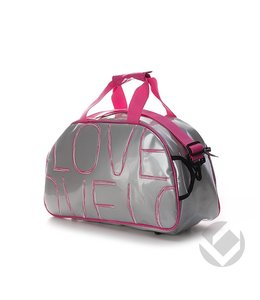 Brabo Shoulderbag Love Silber/Pink