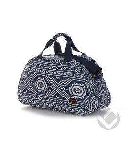 Brabo Shoulderbag Inca Blau/Weiß