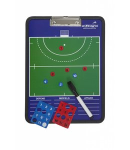 Stag Hockeycoach Mappe Magnetisch Stag