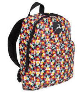 Stag Backpack Print Multi Junior