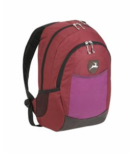 Stag Backpack Uni Deluxe Leather Bordeaux