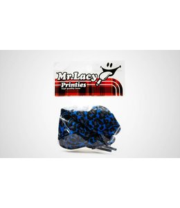 Mr. lacy Printies Blue Leopard