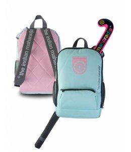 Indian Maharadja Kids bag Aqua/Pink