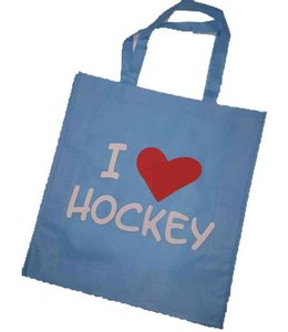 Hockeypoint Shoppingbag Blau