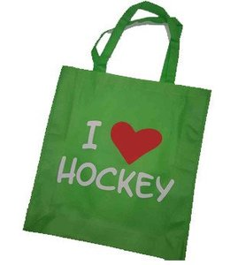 Hockeypoint Shoppingbag Grün