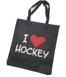Hockeypoint Shoppingbag Schwarz