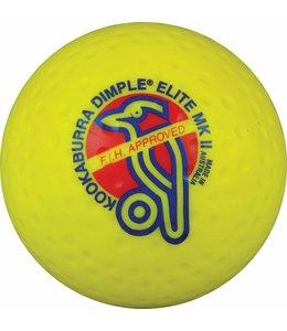 Kookaburra Dimple Elite Geel Hockeybal