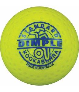 Kookaburra Dimple Standard Gelb Hockeyball