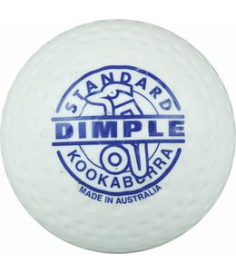 Kookaburra Dimple Standard Weiß Hockeyball