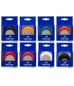 Stag Cotton Tape Rood
